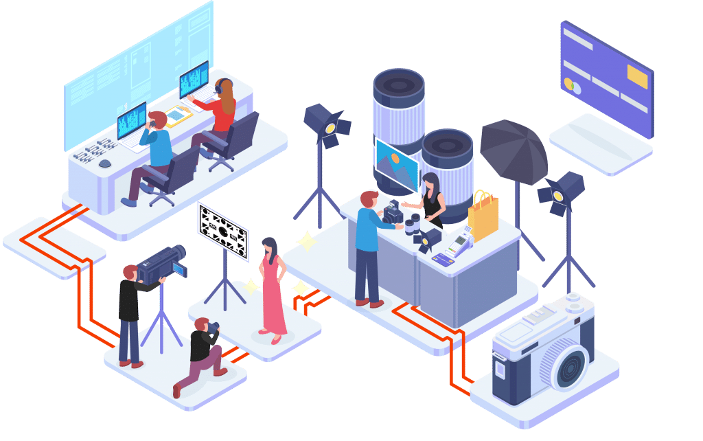 Desenho loja audiovisual i9store