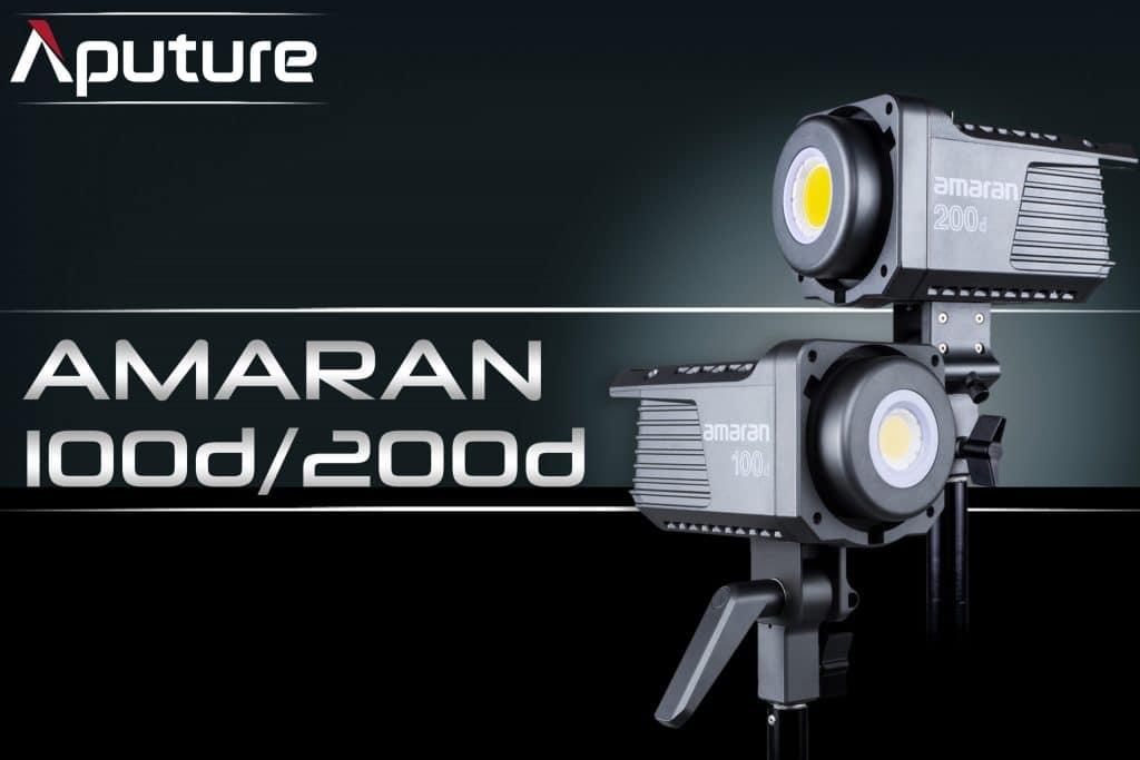 Aputure Amaran 100dx 200dx