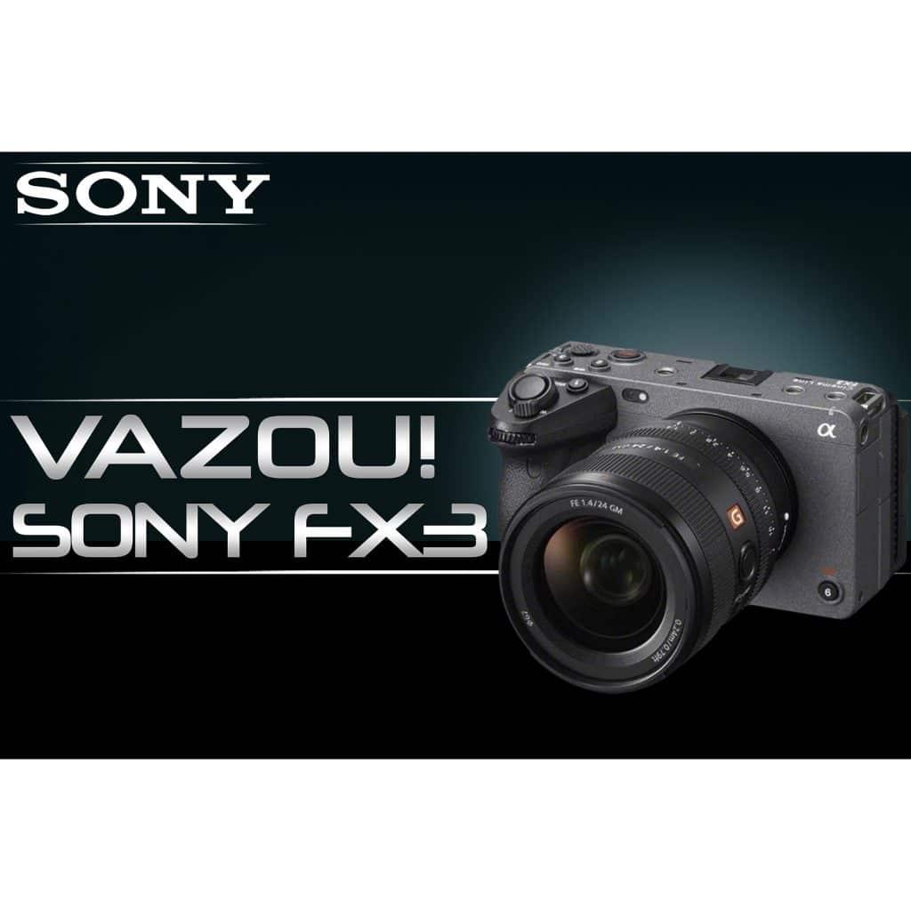 Cinema Line FX3 Sony SOFX3