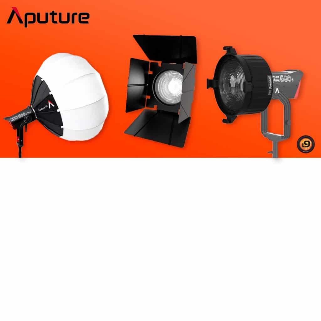 Acessórios Aputure Lantern 90 Barndoor F10 Fresnel F10