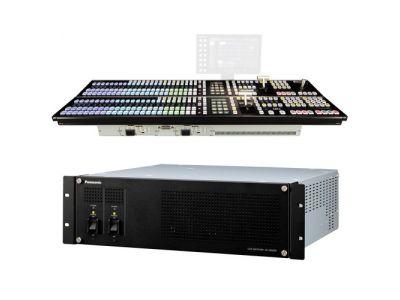 Panasonic AV-HS6000 2 M/E Live Switcher Main Frame; Control Panel (Dual Redundant Power Supplies)