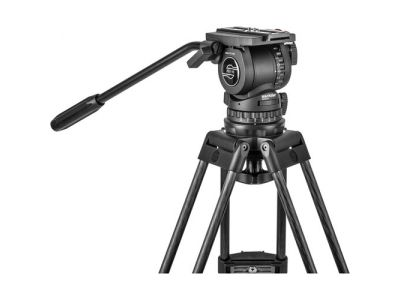 FSB 10 ENG 2 D Aluminum Tripod System with Sideload Plate (100mm)