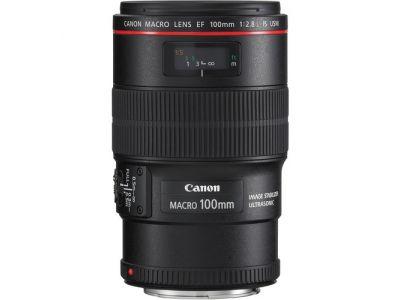 Canon Lente EF 100mm f/2.8L Macro IS USM