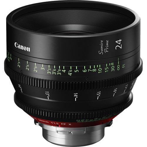 Canon 24mm Sumire Prime T1.5 (PL Mount, Feet)