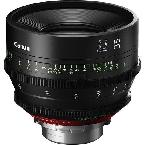 Canon 35mm Sumire Prime T1.5 (PL Mount, Feet)